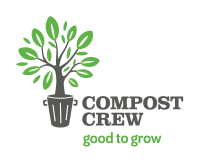 The Compost Crew Sticky Logo Retina