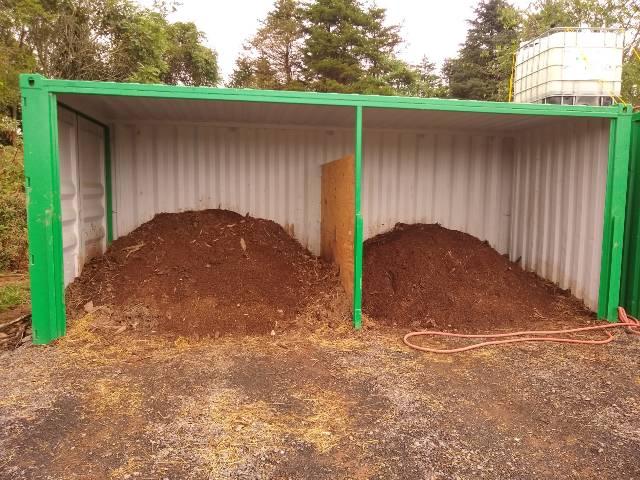 Photo of compost facility
